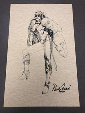 Paul Faris Centaur Pinball Concept Sketch Print (Signed)