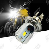 H4 HS1 LED Motorrad ATV Scheinwerfer Birne 20W Fern Abblendlicht Lampe 6000K