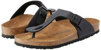 Birkenstock Women's Gizeh Thong Sandals Black(Size US 8-8.5) Eur39, New with box