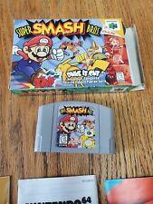 Super Smash Bros. N64 CIB authentic SSB (Nintendo 64, 1999)