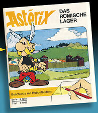 RUBBELBILD HEFTCHEN ASTERIX 1971 LETRASET * AMERICANA KALKITOS DECOTRANSFER *RAR