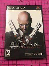 PS2 PlayStation 2 Hitman Contracts Video Game Free Shipping