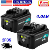 2x 4.0Ah For Makita 10.8V/12V Li-ion battery BL1041B BL1016 BL1021B BL1040 Pack