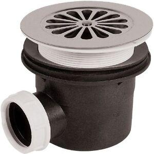BONDE DE DOUCHE - Pour orifice diamètre 90 mm -  VOIR TABLEAU VERSIONS