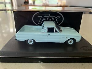 Trax. 1/43 Scale. TR43B. 1962 Ford XL Falcon Delux Utility. In Reef Blue.