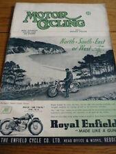 MOTOR CYCLING 10.4.1952 DOUGLAS MK. V ARTICLE jm