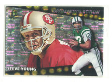 1996 Topps Broadway's Reviews #7 Steve Young San Francisco 49ers