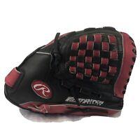 Rawlings Fastpitch Softball Glove Mitt RH 12in FP1200PK Full Grain Leather New