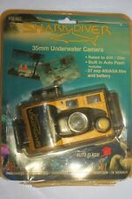 Vintage New Shark Diver 35mm Film Underwater Waterproof Point and Shoot Camera