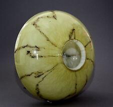Alter Lampenschirm Art Deco Glas Überfangglas marmoriert - . -(42)