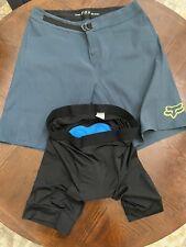 Men's Fox Ranger Mountain Bike Shorts Sz. 36