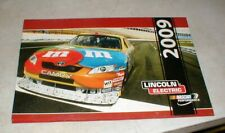 Kyle Busch SIGNED 2009 NASCAR Motorsports Calendar Danica Patrick Ashley Force