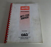 Workshop Manual/Repair Manual Aprilia AF1 - 125 Sintesi