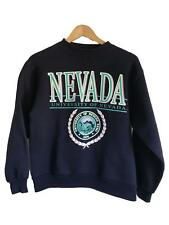 Vintage Jansport University of NEVADA Reno UNR Sweatshirt Navy Womens Medium M