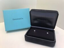 Tiffany & Co diamond Stud earrings, in platinum, approximately 0.2ct