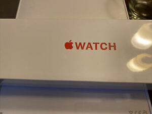New Apple Watch Series 6 44mm Red Aluminum Case with Red Sport Band