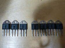Motorola TIP35B (4) TIP36B (3)  MJE180 (2) Original Vintage Matched Transistors