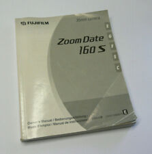 Original User Instruction Manual for Fujifilm Zoom Date 160 S Camera