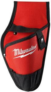 Milwaukee 1 Pocket Power Tool Drill Holster Holder Belt Attachment Storage Pouch