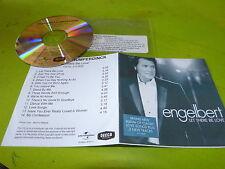 ENGELBERT HUMPERDINCK - LET THERE BE LOVE !!!!!RARE PROMO CD!!!!