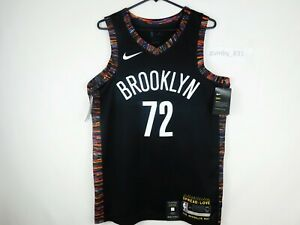 Nike Brooklyn Nets City Edition Biggie Swingman Jersey Black Variety of Sizes