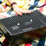 NEW BBQ Barbecue Stainless Steel Mesh Wire Net Outdoor Cook Picnic