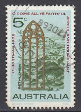 Australien Briefmarke gestempelt 5c Christmas 1968 Weihnachtsmarke / 468