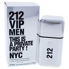 Men 212 VIP By Carolina Herrera 1.7 Oz EDT Spray New In Box (not 3.4)