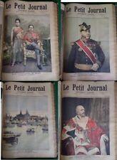 Reliure Le Petit Journal années 1892-1893 comprenant les 4 n° sur Roi de SIAM