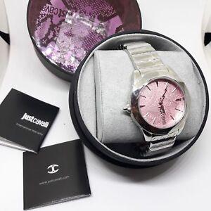100% Genuine Just Cavalli Ladies Wrist Watch JC1L003M0065