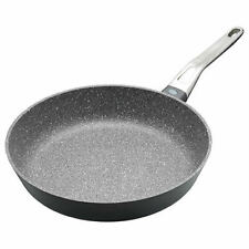 More details for master class induction aluminium 28cm fry pan marble coating