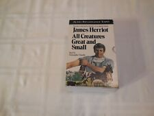All Creatures Great and Small by James Herriot. Audio book on cassette.