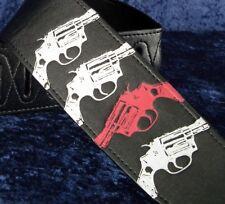 REBEL GUITAR STRAP GUNS - .357 MAGNUM - YOU FEEL LUCKY PUNK