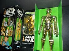 "VTG~1977~1978~Star~Wars~12""~Large~Droids~C3PO~c3p0~Doll~action~figure~box~lot~~~"