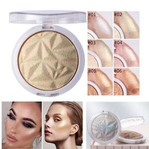6 Colors Face Highlighter Shimmer Contour Makeup Highlight Face Brighten Powder
