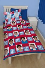 "One Direction ""Craze"" Single Size Rotary Duvet Cover and Pillowcase - NEW"