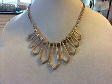 $39.99 Ann Taylor Gold Spikey Necklace W/Studs 112 (4)
