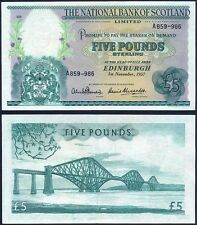 SCOTLAND 5 Pounds 1957 XF + P 262