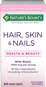 vitaminas para mujeres cabello pelo piel unas uñas con Biotin y antioxidantes
