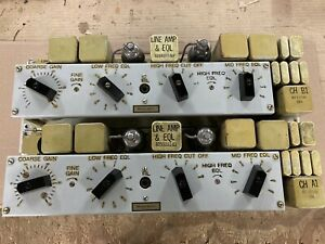 Western Electric | Pair of Tube Preamps