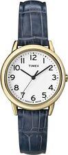 Timex T2N954, Women's Blue Leather Strap Watch, Indiglo, T2N9549J
