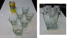 Anchor Hocking  4.5 oz. ON THE ROCKS WHISKEY SHOT GLASS #90004 (6 EACH)