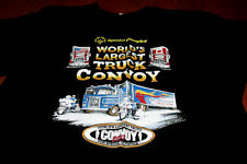 WORLD'S LARGEST TRUCK CONVOY large T-shirt 2007 Police