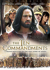 The Ten Commandments - The Complete Miniseries (DVD, 2006) NEW