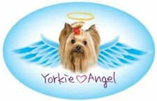 YORKIE ANGEL CAR MAGNET