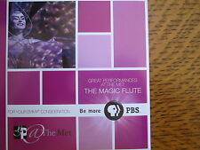 THE MAGIC FLUTE EMMY DVD PBS AT THE MET JULIE TAYMOR MOZART OPERA IN ENGLISH