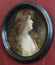 Diana ?. Frauenbildnis um 1900.