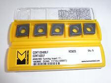 NEU 10 Kennametal DNMG150608MP KCM25 für VA Wendeplatte mit Rechnung