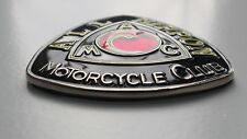 Japanese Motorcycle grill badge -  Race badge Fits Yamaha honda suzuki kawasaki