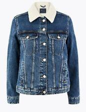 Marks and Spencer Denim Jacket Size 14